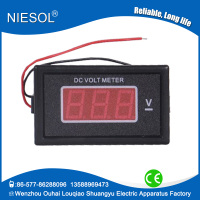 Supply 85 series 12-60V DC digital LED digital voltmeter