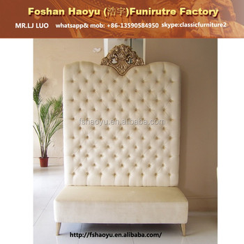 Beauty Salon Sofa Couch Wooden White Sectional Sofa White