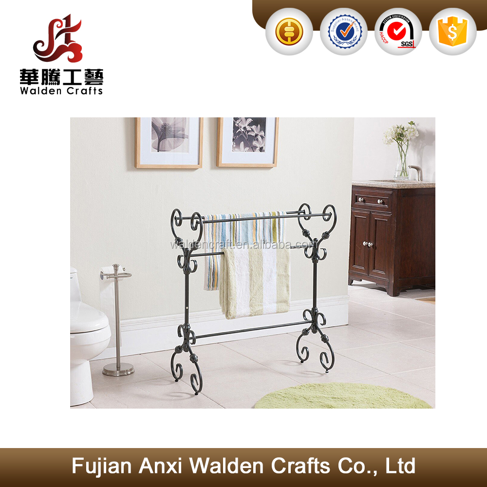 Bathroom Metal Towel Rack Stand Towel Organizer