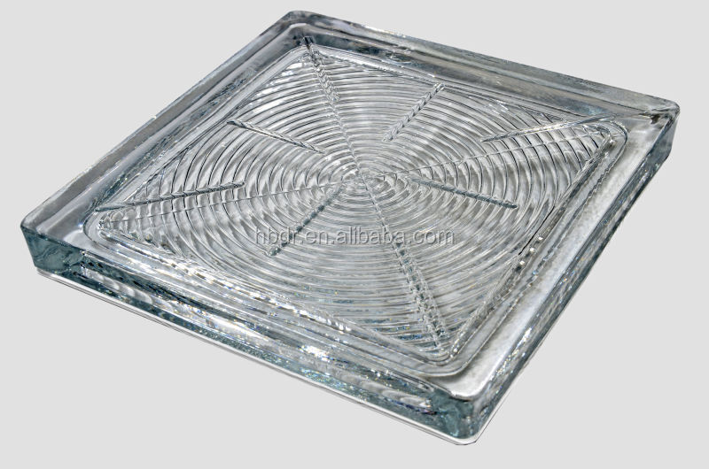Claro s lido bloque de vidrio cristal de ladrillo para el - Bloque de vidrio precio ...