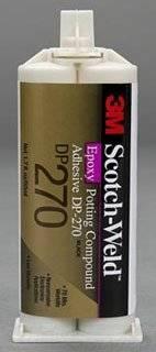 3M(TM) Scotch-Weld(TM) Epoxy Potting Compound DP270 Clear, 50 mL, 12 per case