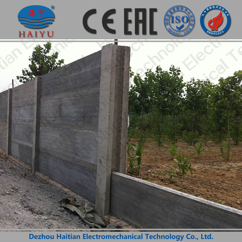 Precast Compound Wall : Precast concrete compound wall mould