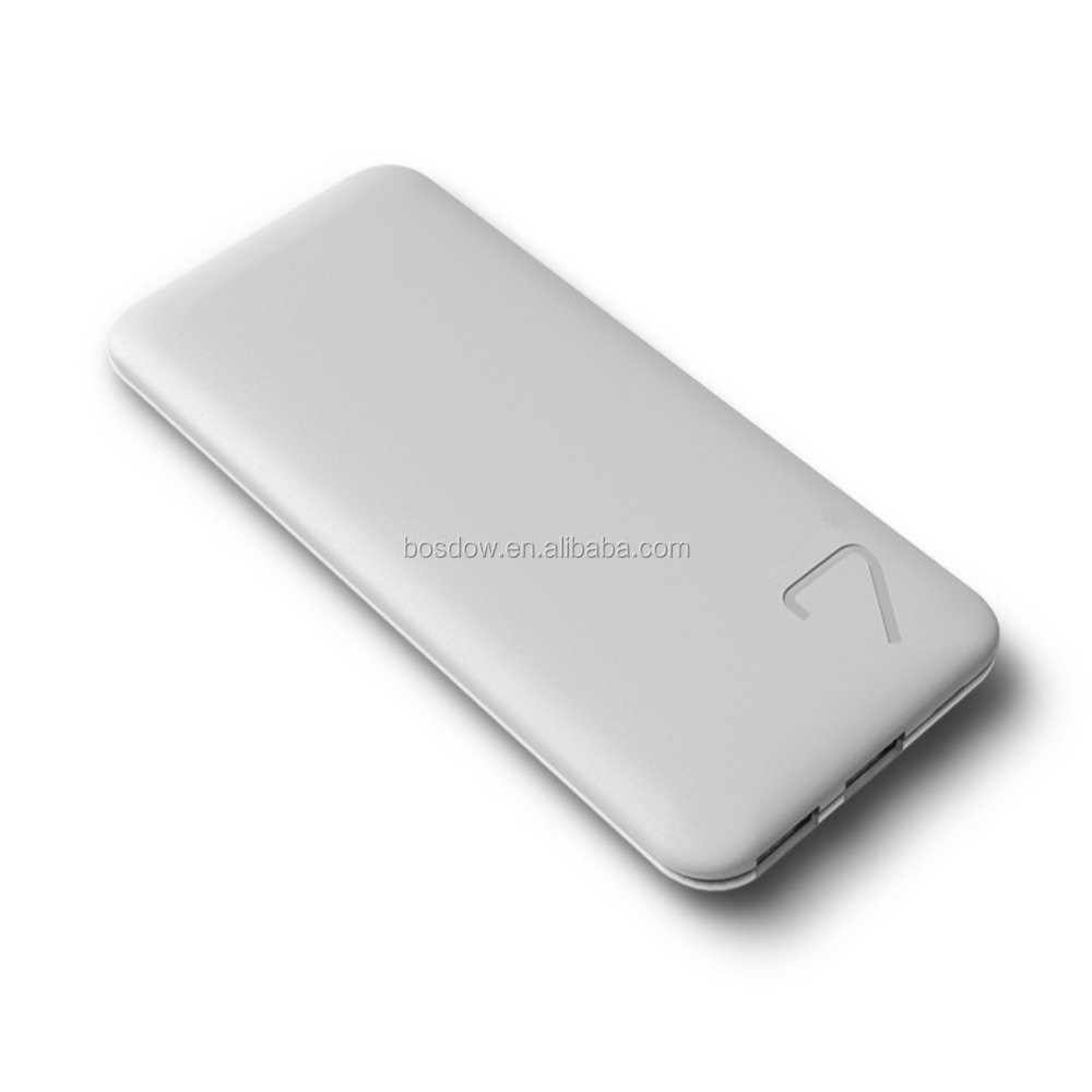 Consumer <strong>electronics</strong> mobile slim power bank 6600mah powerbank for iphone