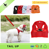 New Arrival Mesh Fabric Summer Style XXS Body Dog Harness Vest