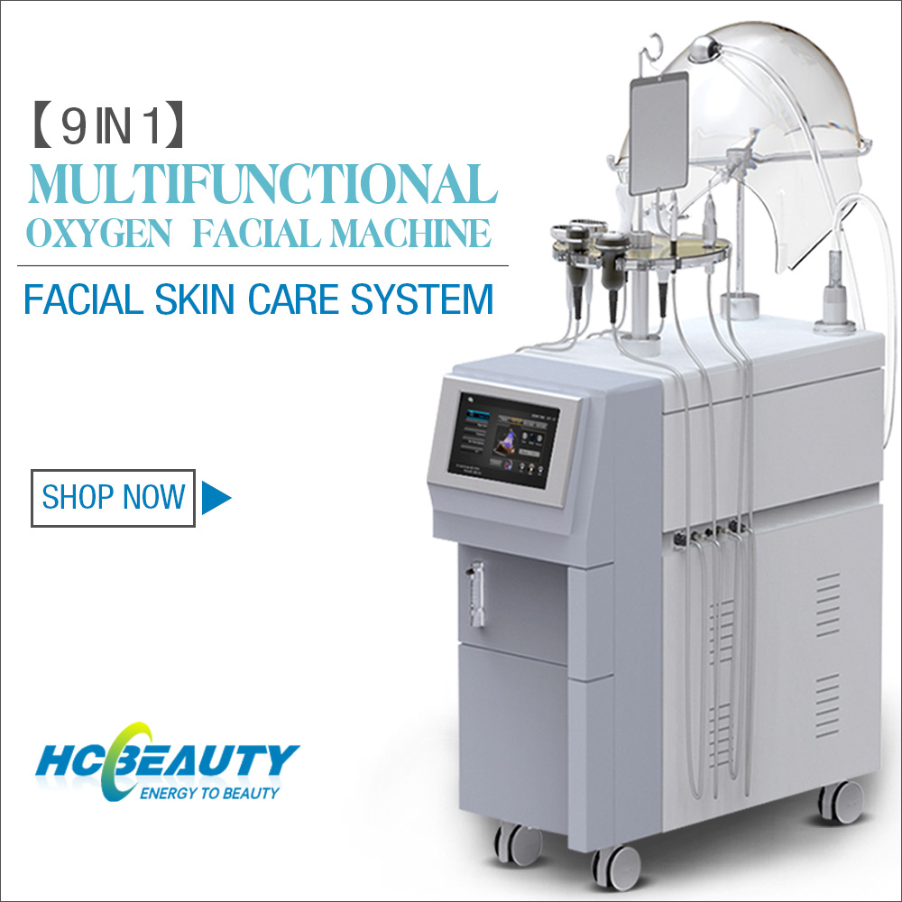 Optimal!! Oxygen Infusion Supersonic Cavi RF Beauty Machine for skin rejuvenation/body beauty