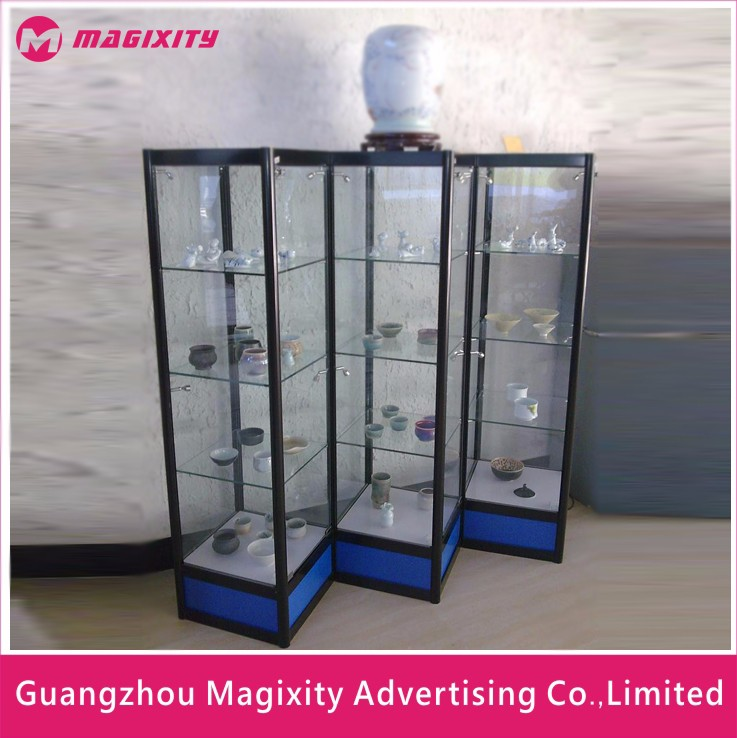 High Quality New Product Transparent Acrylic Used Glass Jewelry Display Cases