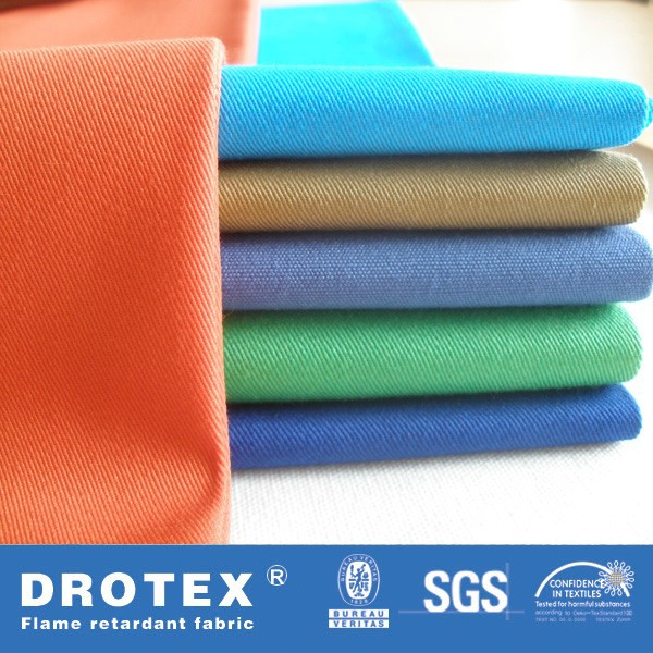 Cotton 330gsm Twill Fireproof Heat Resistant Fabric for Ironing Boards Cover