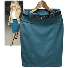 Dámska business sukňa v rôznych farbách z Aliexpress