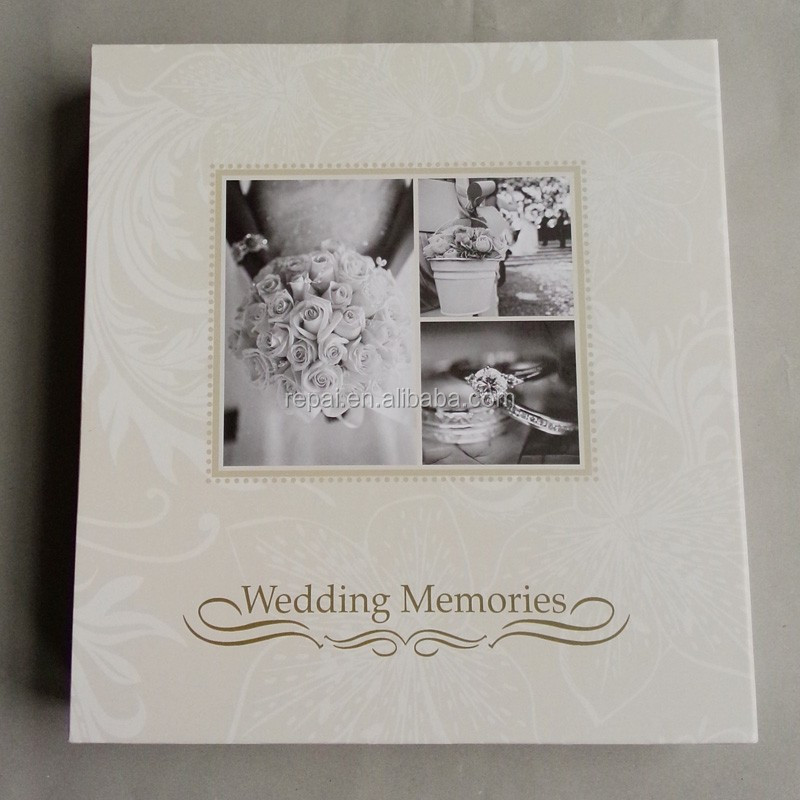 Wedding Memory Paper Photo Album With Gift Wedding Album Self