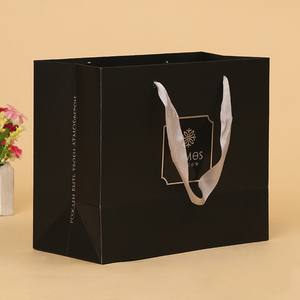 china custom design luxury shopping gift paper carrier bag template