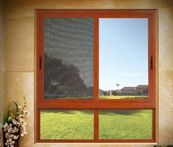 side sliding windows horizontal aluminum frame side sliding glass window system with mosquito net aluminum frame side sliding glass window system with