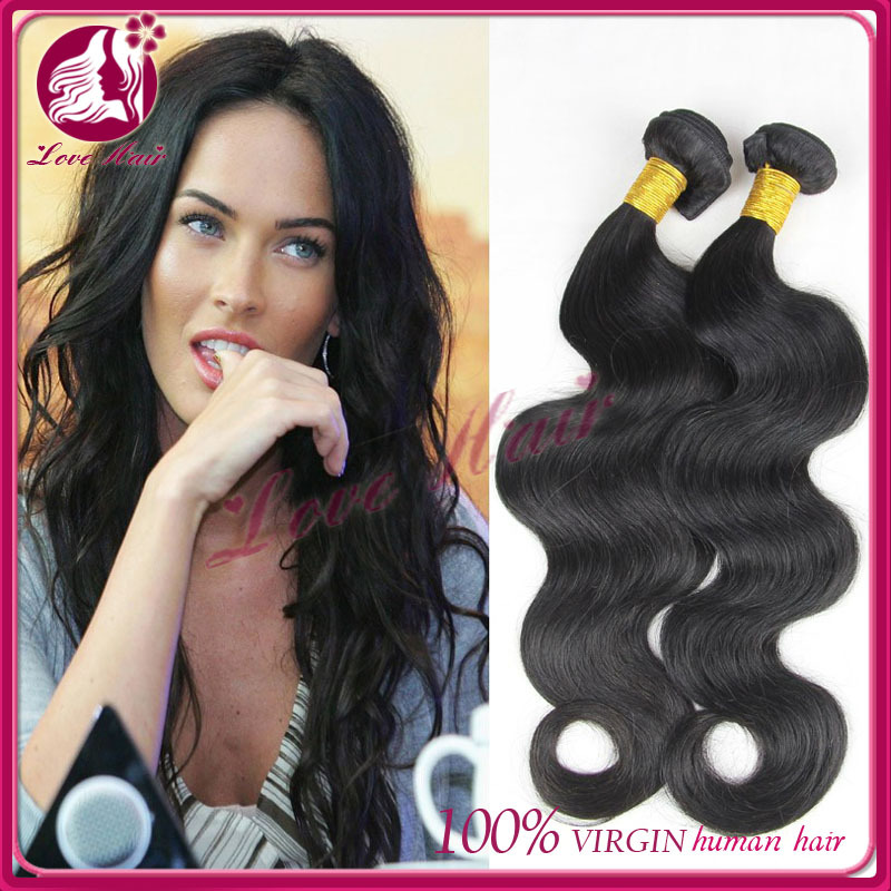 brazilian virgin hair body wave 3 lot 100% human hair weaves hair products Latin brazilian body wave free