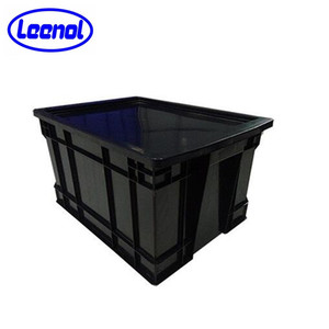 LN-1524928 Conductive Plastic Boxes Uline ESD Containers With Lid