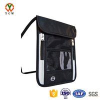 special offer travel neck pouch with RFID blocking passport holder wallet