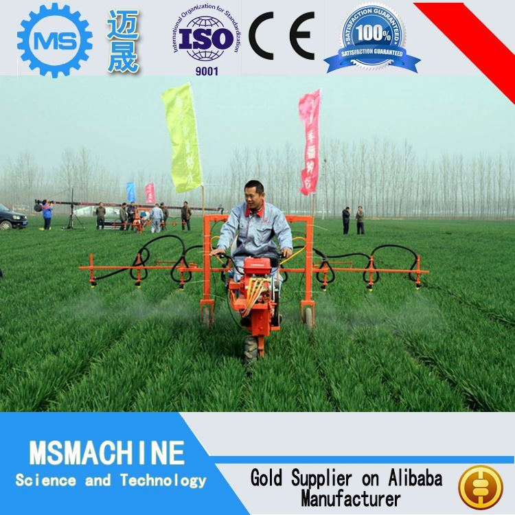 High Efficiency 2015 risk free spot CE 800L self-propelled tractor orchard sprayer