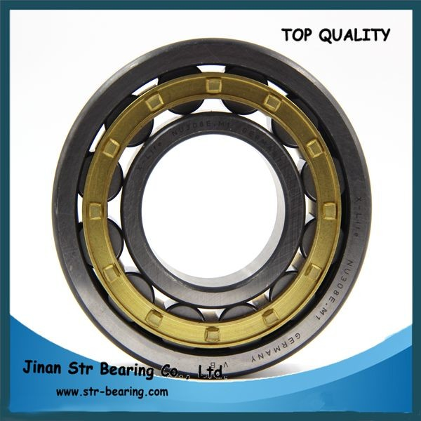 40x90x23 mm single row brass cage Cylindrical Roller Bearing NU308 NU308E