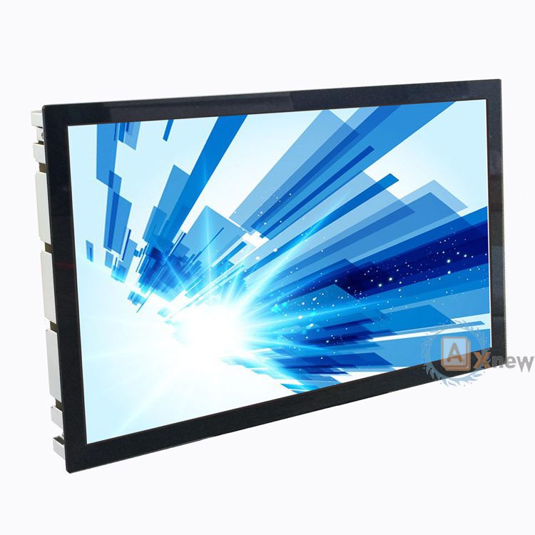 21.5 inch full hd wide open frame monitor with pro capacitive touch video RGB inputs
