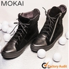 J001H-MK13 BLACK New arrival women high quality flat boots ladies fashion shoes cool style