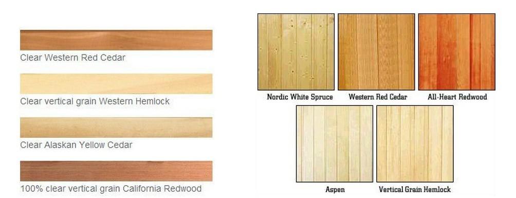 Dry Sauna Canadian Cedar Wood Wall Paneling Buy Cedar