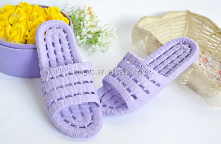 cheap wholesale new design pink pvc blowing bath <strong>slippers</strong>