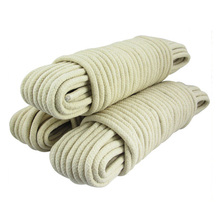 "3/8"" rope cotton sash rope double braided"