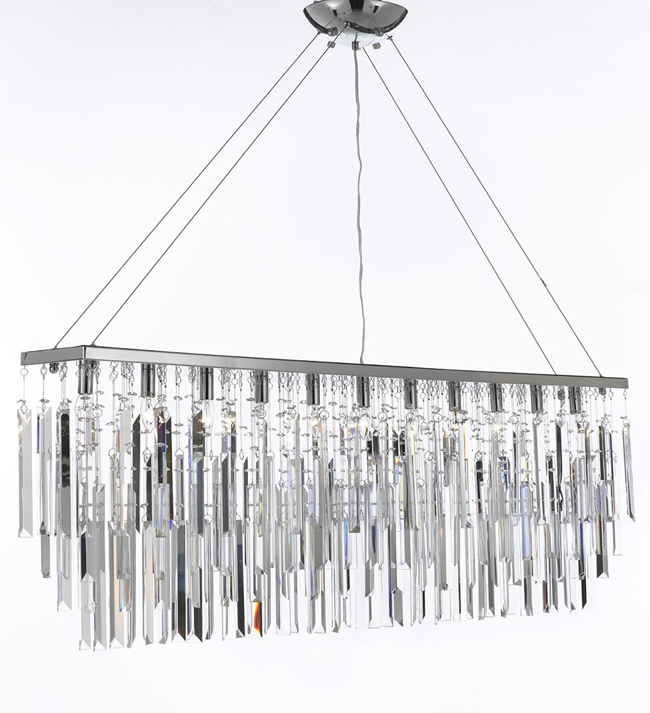 Crystal Bead Hanging Decoration Light For Stage Decoration - Buy ...