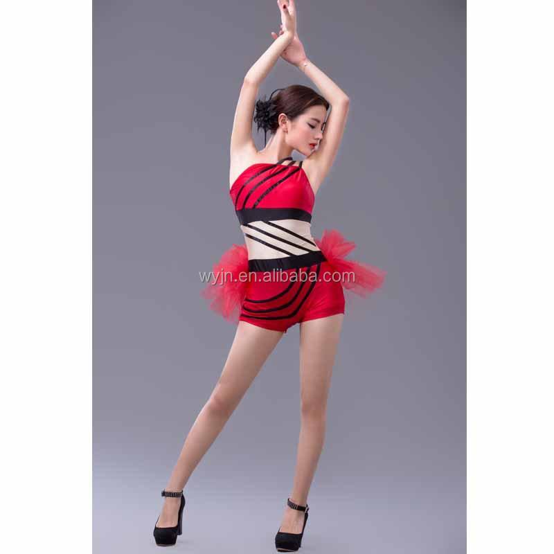 New unique -girls  dance jazz costume - new dashing girls  dance suit - 2f4c7b987e5