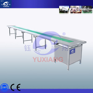 China manufacture 4M stainless steel belt conveyor price nylon belt