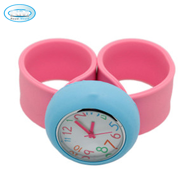 Hot Selling Slap Band Watch With Custom Slap Watch Faces For Kids