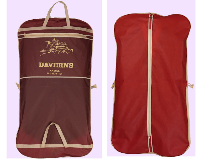 Fermuarlı konfeksiyon çanta/toz geçirmez takım çantası gelin elbise giysi kılıfı fermuarlı düğün gelin