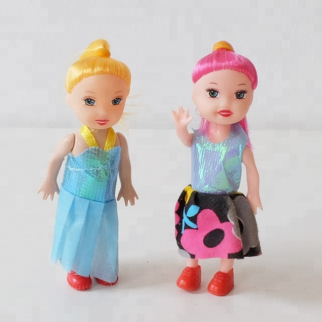 Mini Fashion Beautiful Barbiee Girl <strong>Doll</strong> With Pets For Kids
