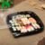 HP sushi custom blister disposable plastic lids dishes and trays