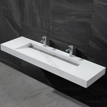 60 Inch White Trough Bathroom Sink Buy Bathroom Sink