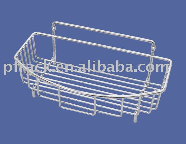 metal bathroom wire rack