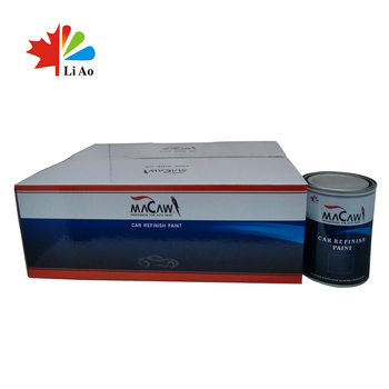 Hot Tinting White Acrylic 1k Solid Color Tinter Car Paint