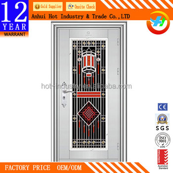 Beautiful Pattern Design Stainless Steel Main Gate Design Entry