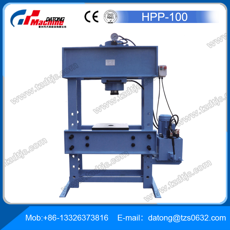 Hydraulic Presses HPP100 for Bending, Blanking and Dies