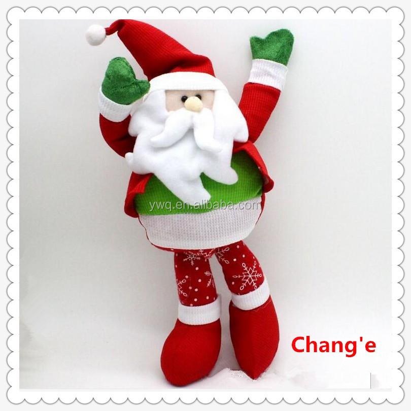 Handarbeit Weihnachten Spielzeug Plüsch Weihnachten Santa Spielzeug ...