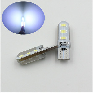 T10 Silicone shell Wedge 194 t10 w5w 501 6led led interior light 5730 LED light Bulbs