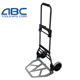 Two Wheels industrial foldable push hand trolley truck