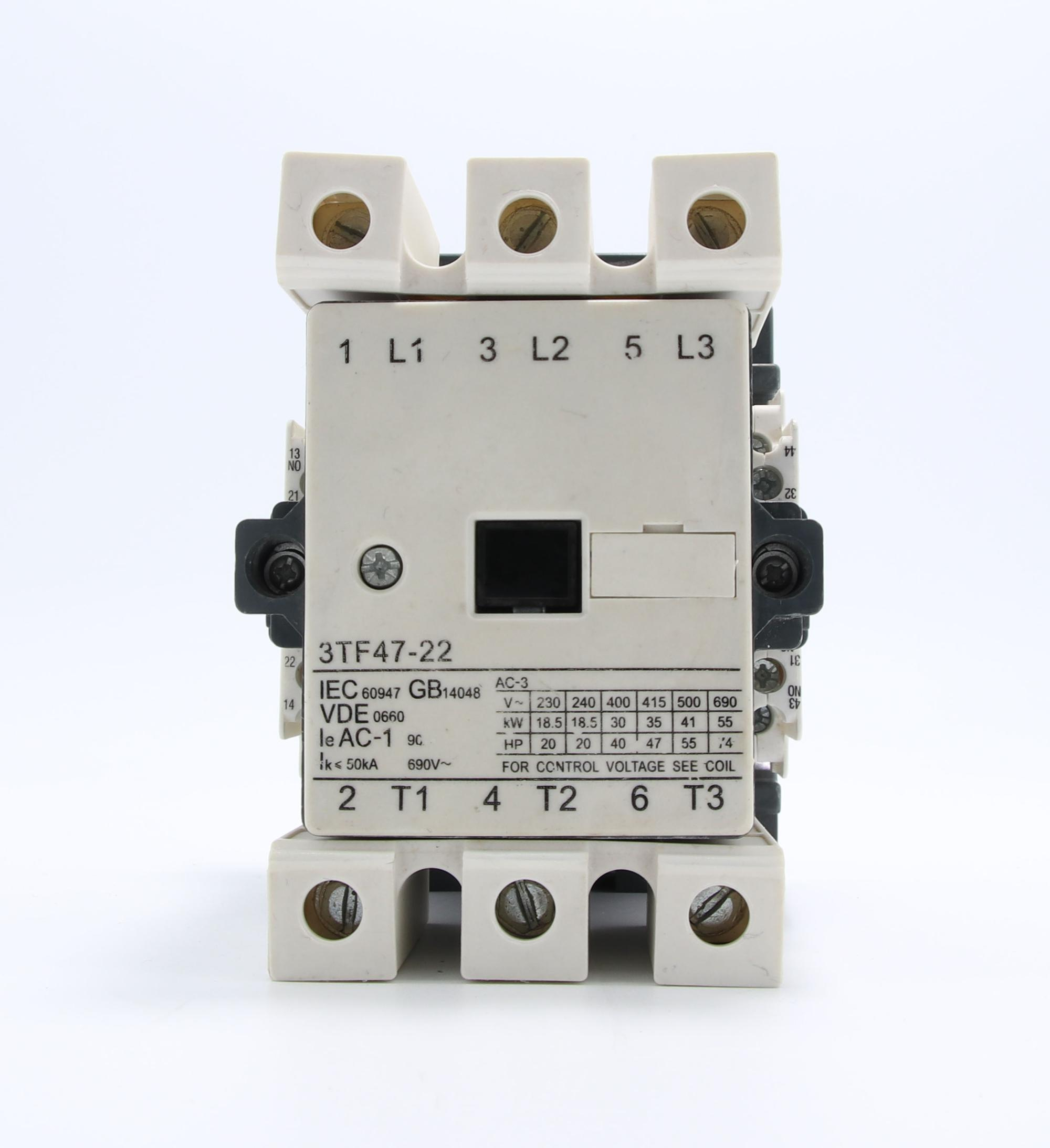 3TF47 AC Electrical Contactor