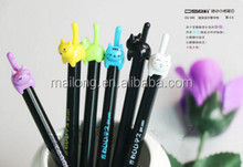 South Korea's creative 3 d cartoon stationery wholesale beats meow tail cat cute neutral pen PN6292