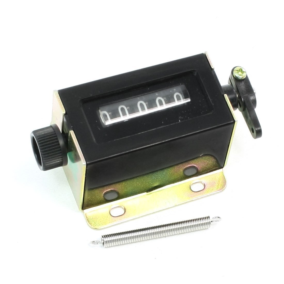 GUWANJI D67-F 5 Digits Resettable Stroke Pulling Pull Counter
