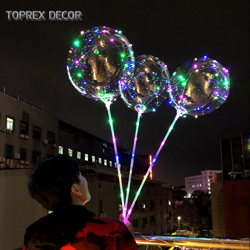 Flashing Led Light Up Balloons
