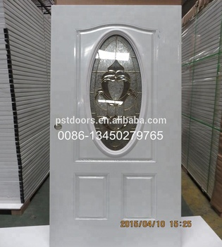 30 80 Prefinished Primed White 6 Panel Prehung Steel Interior Door