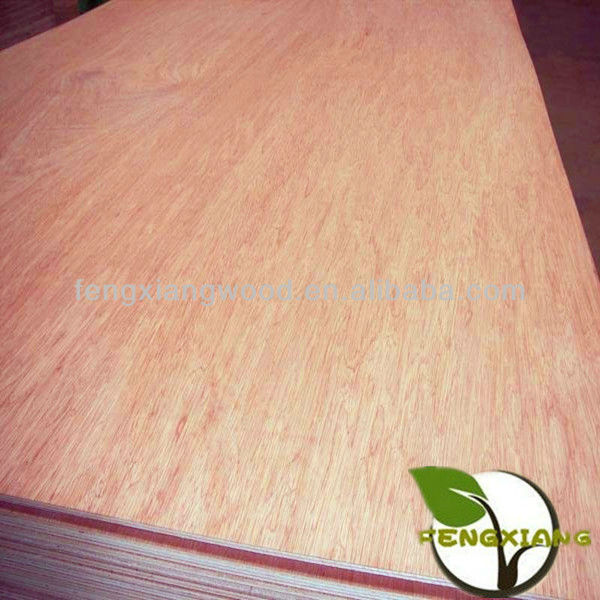 bintangor/okoume/red hardwood/birch face commercial plywood for packing usage