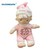 Newborn Baby Plush Doll Custom Girl Nursing Toys Sleeping Rag Dolls