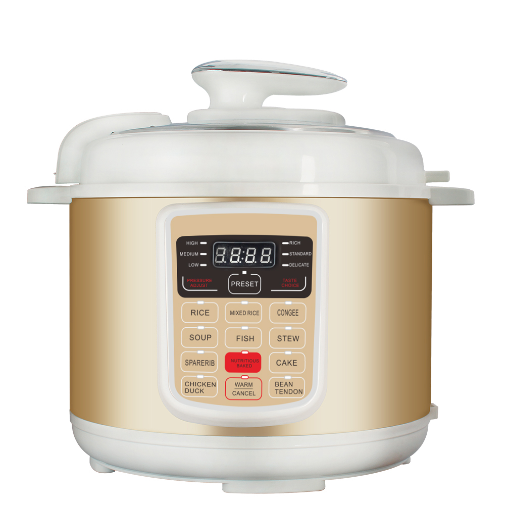 Intelligent multi function electric pressure cooker