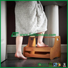 Bamboo wooden small ladder,room floor mat