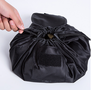 modern foldable toiletry bag drawstring makeup cosmetic bag case